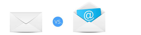 E-Mail Marketing contra Postbrief