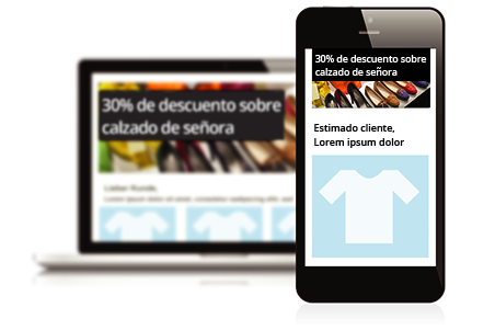 Plantillas de newsletters de diseños adaptables