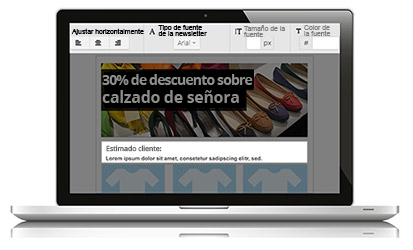 Crear newsletters con Newsletter2Go