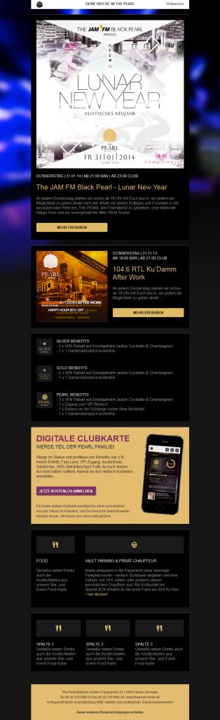 JamFM Newsletter Desktop Version