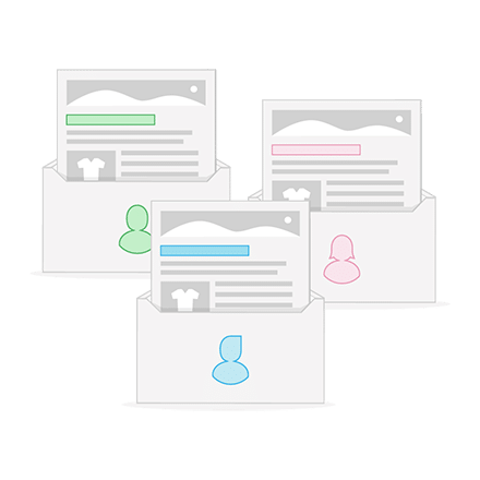 Grafik_Newsletter-versenden_personalisierter-Versand